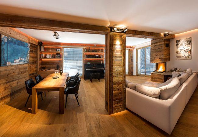 Chalet à Le Monêtier-les-Bains - Appartement Le Combeynot