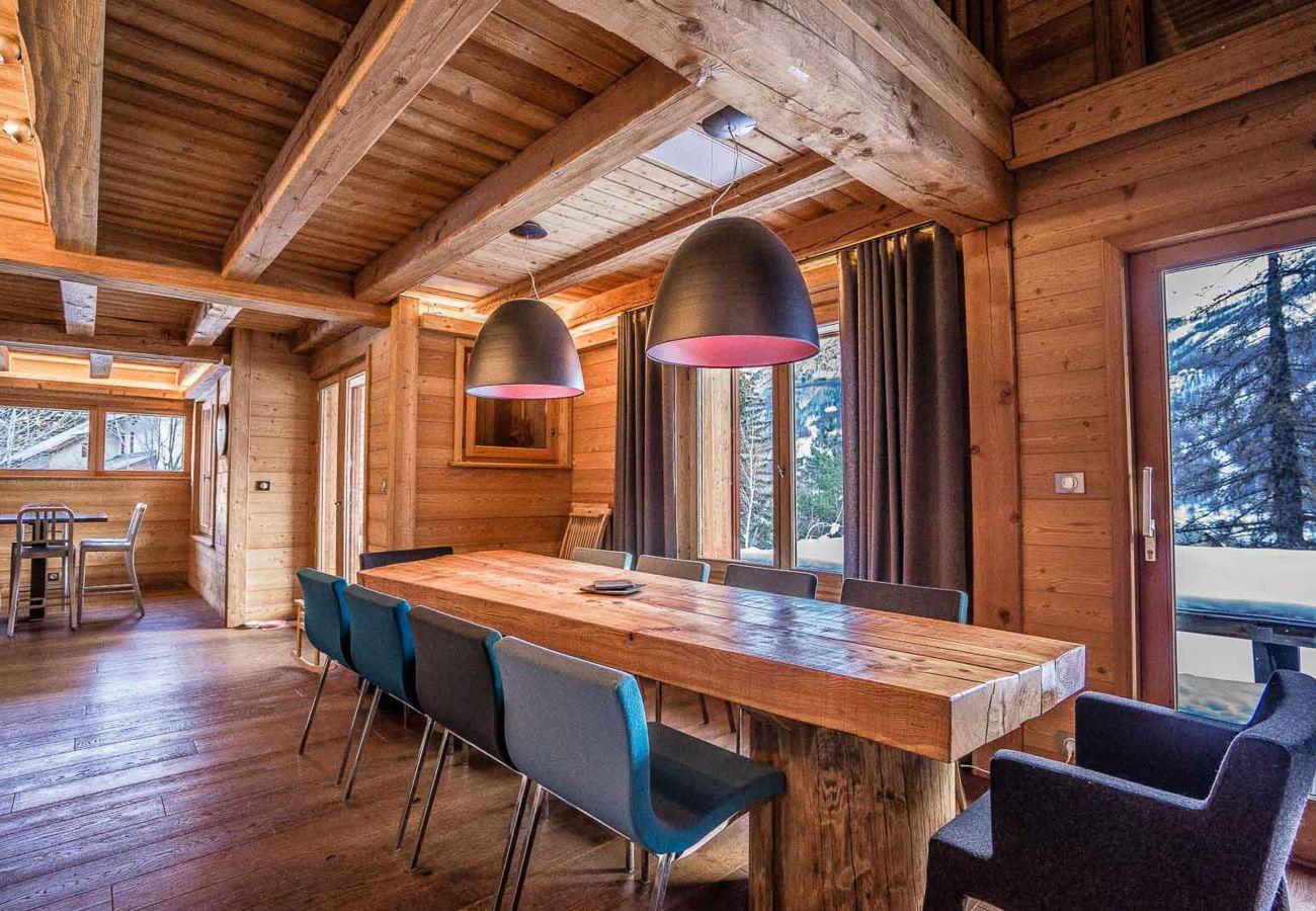 Chalet à Le Monêtier-les-Bains - Chalet Dôme